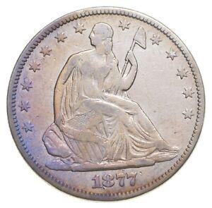 1877 Seated Liberty Half Dollar *1861