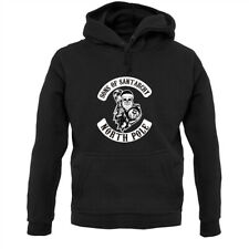 Sons Of Santarchy - Hoodie / Hoody - Father Christmas - Secret Santa - Anarchy