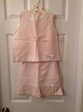 Lavender Blue Soft Pink 2Pc Outfit Skirt,Top Sz. 5 NWT
