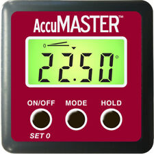 NEW AccuMASTER 2-in-1 Digital Angle Gauge