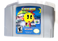 Ms. Pac-Man Maze Madness Nintendo 64 N64 Game Tested + Working & AUTHENTIC!