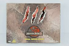 Jurassic Park 3 Special Edition Boxset collectors DVD, storyboard, Film Cell
