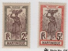 Martinique,Scott#98-100,MH