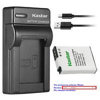 Kastar Battery Slim Charger for Nikon EN-EL12 MH-65 & Nikon Coolpix AW110 Camera