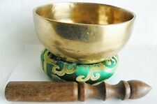 Meditation Singing Bowl Throat Chakra G Note Sound Healing Tibetan Yoga Om 10 5""
