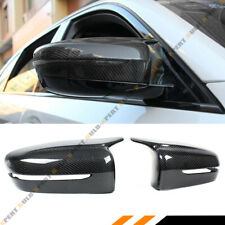 FOR 17-2020 BMW G30 G20 M STYLE WING CARBON FIBER REPLACEMENT SIDE MIRROR COVERS