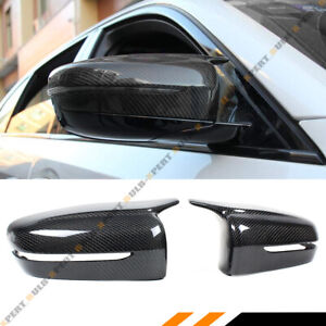 FOR 17-2021 BMW G30 G20 M STYLE WING CARBON FIBER REPLACEMENT SIDE MIRROR COVERS