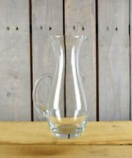 Clear Glass Jug Pitcher Water Wine Juice Cocktail 1900 ml Tall 30 cm