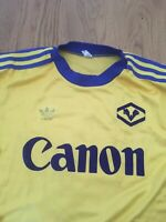 VERONA 1983/84 Maglia Volpati Fontolan Adidas SHIRT WORN MATCH ISSUED Canon 5 M