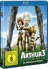 ARTHUR UND DIE MINIMOYS 3, Die große Entscheidung (Blu-ray Disc NEU+OVP)