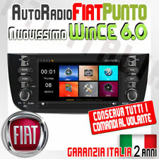"AUTORADIO 7"" FIAT PUNTO EVO USB SD GPS MP3 DVD -Navigatore + MAPPE INCLU..."