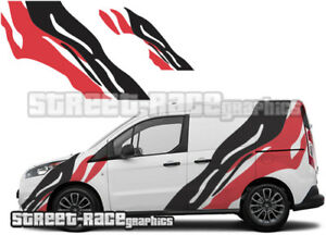 Ford Transit CONNECT rally 008 Tiger stripes decals stickers graphics