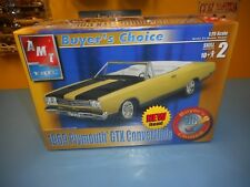 """AMT ERTL MUSCLE 1969 PLYMOUTH GTX CONVERTIBLE BUYER'S CHOICE   """"NEW"""""""