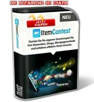 ITEM CONTEST Gewinnspiele online erstellen TEXTIL BEKLEIDUNG PC etc. PLR Lizenz