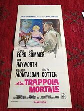 La Trappola Mortale locandina poster The Money Trap Rita Hayworth Glenn Ford