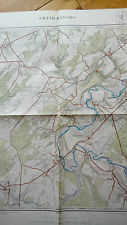 Institut Cartographique militaire GRAN HAN 54/4 - 1/20000 - 1932 Somme Leuze...