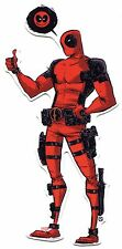 DEADPOOL Thought Bubble/Thumbs Up STICKER -Marvel Comics Licensed Decal s-mvl-60