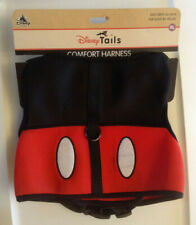 "Disney Tails Dog Size Xl Pet Comfort Harness Mickey Mouse 90-100 lbs 26-28"" Nwt"