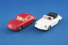 Sammlungsauflösung 2er-Set Praliné Porsche 356 Coupé & Cabrio 1/87 H0 gebraucht