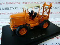 TR999A Tracteur 1/43 universal Hobbies LATIL H14 TL 10 1950 forestier