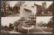 Postcard Wickhambreaux near Canterbury Kent multiview early RP