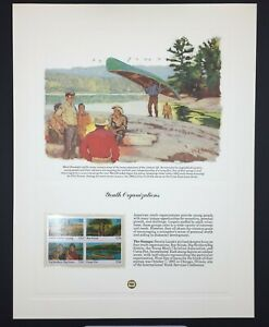 Scott 2163a Commemorative Stamp Collector Panel Youth Organizations MNH