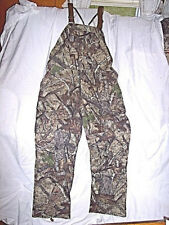 Mens Medium Bibs Non Insulated Bib Overalls Realtree Camo Bib Hunting Coveralls