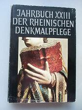 Jahrbuch Berichte Tätigkeit Restaurierungswerkstatt 1953-1959 Denkmalpflege
