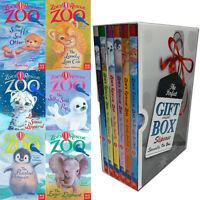 Amelia Cobb Zoe's Rescue Zoo Collection 6 Books Set Gift Wrapped Slipcase New
