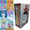 Amelia Cobb Zoe's Rescue Zoo Collection 6 Books Set Gift Wrapped Slipcase New