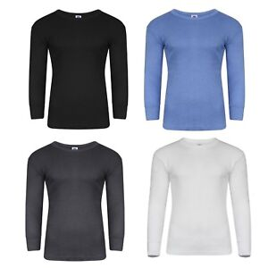 Pack of 4 X Mens Thermal Full Sleeve Tops, Warm Underwear in Size S to 2XL