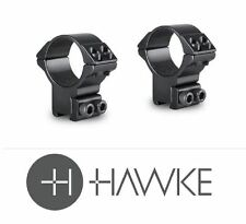 Hawke Match Mounts 30mm High 9-11mm Dovetail Hm6162