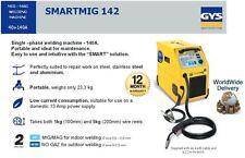 GYS MIG MAG SINGLE 1 PHASE 140A PORTABLE 23.3KG GAS / NO GAS WELDING MACHINE
