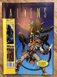Aliens Comic #5 Trident Includes Predator And Aliens V Predator