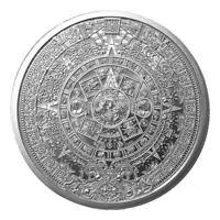 Aztec Calendar 1oz .999 Silver Round - Golden State Mint