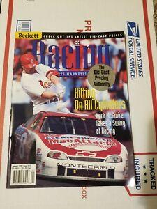 JANUARY 1999 DALE EARNHARDT JR./ MARK MCGWIRE BECKETT RACING MAGAZINE