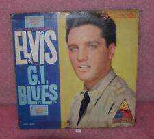 ELVIS G.I. Blues Vinyl Record Album LP RCA Victor.