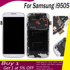 White For Samsung Galaxy S4 i9505 Touch Screen LCD Display Digitizer Replacement