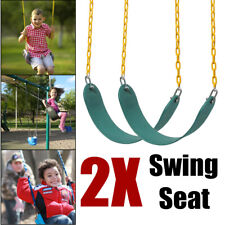 2Pack Heavy Duty Swing Seat Set Accessories Replacement Swing Slides Gym Outdoor