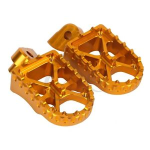Gold CNC Footpeg Fits For Yamaha YZF450 2003-2013 YZ 426F 2000-2002