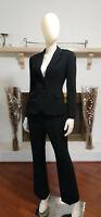 TAHARI ASL PETITE Black 2-Piece Business/Career Pant Suit-Size 6P