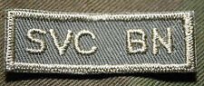 """CANADIAN ARMY COMBAT TAB UNIT BADGE  INSIGNIA  """"SVC BN"""" 4 FOR $1 MIX & MATCH"""