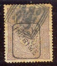 TURQUIA 1892 SCOTT P29 5pi USADO