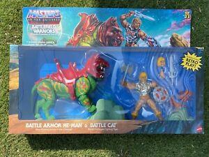 Masters Of The Universe Origins Battlefield Warriors He-Man & BattleCat