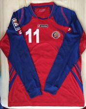 Costa Rica Fifa 2010 World Cup Qualifier Game Used/Worn Soccer Jersey Ruiz