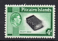 Pitcairn Islands 4d Stamp c1940-51 Mounted Mint (1673)