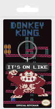 Gummi Schlüsselanhänger DONKEY KONG - It's On Like (Nintendo)  Keyring RK38705