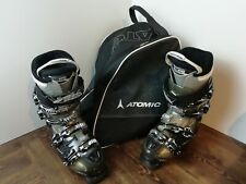 Atomic Hawx 100 Ski Boots Size 26 - 26.5  8- 8 1/2 With Bag