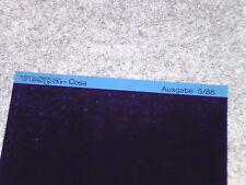 Microfich Ersatzteilkatalog Ersatzteilliste Piaggio Vespa Cosa 200 VSR1T 1988
