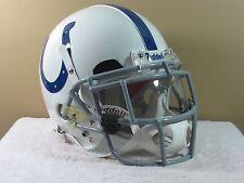 Custom Riddell VSR4 GAME STYLE Football Helmet INDIANAPOLIS COLTS Oakley Shield